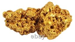 West australian high purity rare natural pilbara gold nugget weight 5.3 grams