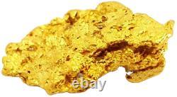 West australian high purity rare natural pilbara gold nugget weight 6 grams