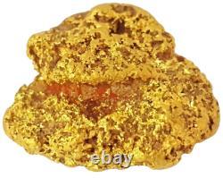 West australian high purity rare natural pilbara gold nugget weight 7.4 grams