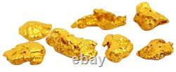 West australian high purity rare natural pilbara gold nuggets lot weight 1 gram