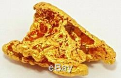 Western australian high purity rare natural pilbara gold nugget weight 2.3 grams