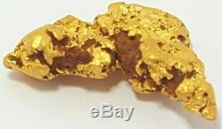 Western australian high purity rare natural pilbara gold nugget weight 4.6 grams